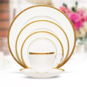 ROCHELLE GOLD - 61 Pcs DINNER SET-4261